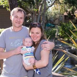 Михаил и Алла роды в США с born-in-california
