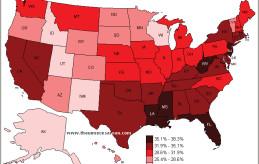 Map_US_Cesarean_Rates_2007